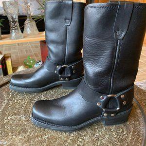 Women's Old School Moto Boots size 7.5